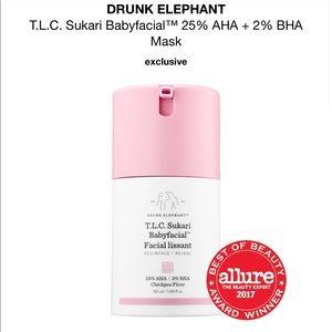 Drunk Elephant T.L.C. Sukari Babyfacial Mask
